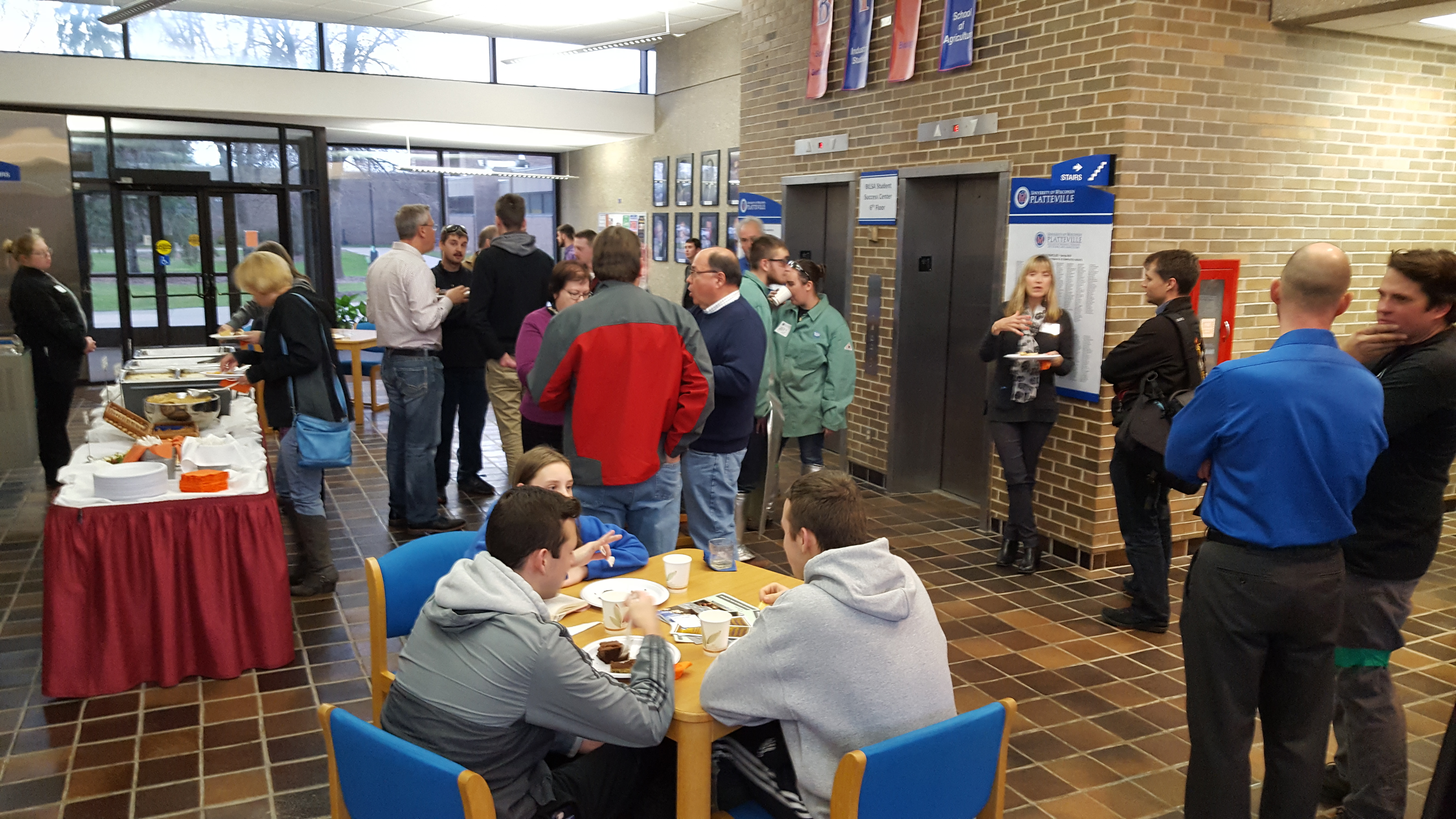 Platteville Reception